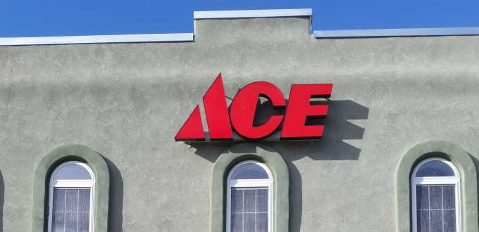 Timberline Ace Hardware, storefront, norwood