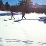 Cross Country Skiing, Norwood Colorado, winter activity