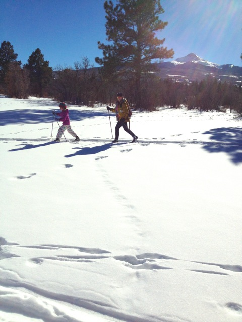 Cross Country Skiing, Norwood Colorado, winter activity